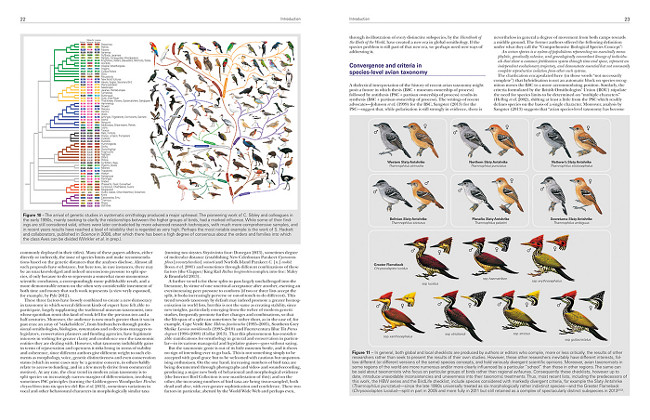 Illustrated Checklist of the Birds of the World - Introduction