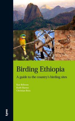 Birding Ethiopia book cover image