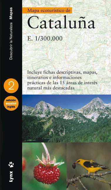 Mapa ecoturístic de Catalunya (Catalan/French) book cover image