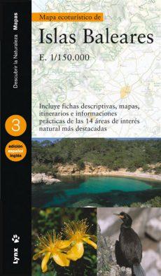 Mapa ecoturístico de las Islas Baleares (Spanish/English) book cover image