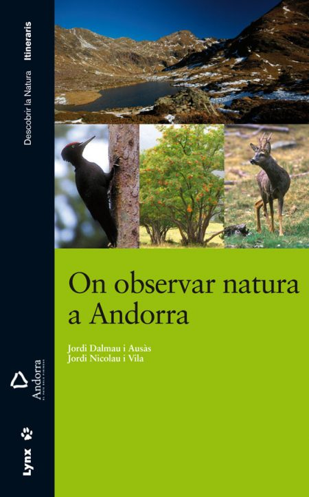 On observar natura a Andorra book cover image