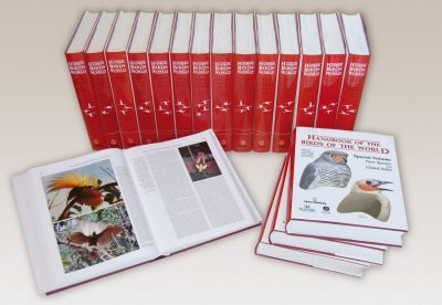 Handbook of the Birds of the World book cover image
