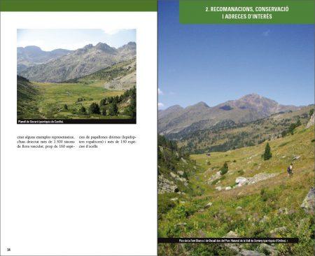 On observar natura a Andorra sample page
