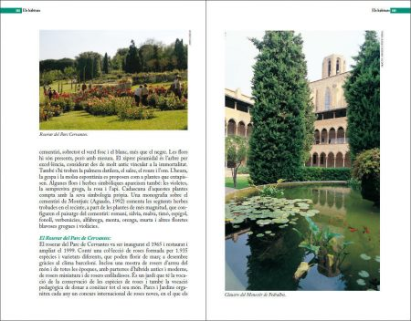 Guia de natura de Barcelona sample page