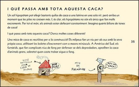 Caca sample page